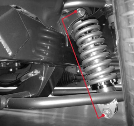 Air Lift Performance Builders Series Measuring Shocks