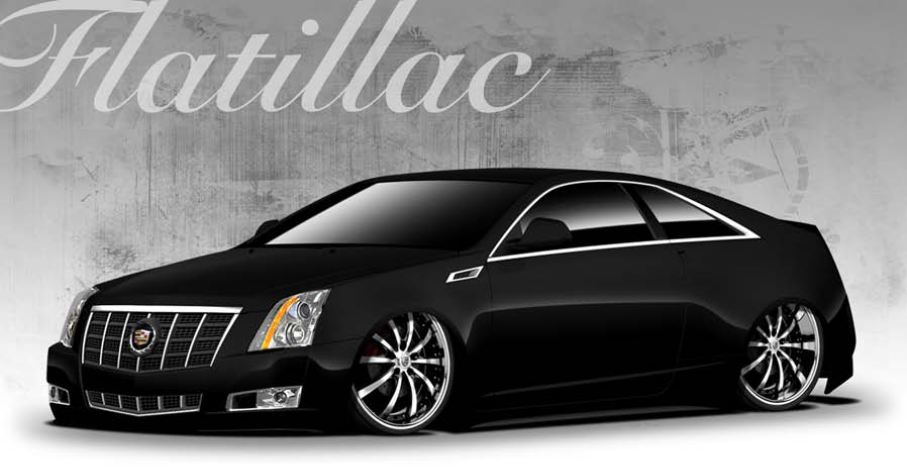 Air Lift Performance SEMA - Cadillac CTS