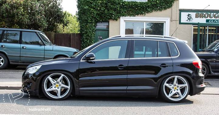 Plush Automotive VW Tiguan on Air Lift Performance