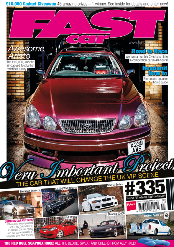 VW Mk5/Mk6 Threaded Body Performance Kit in Fast Car magazine