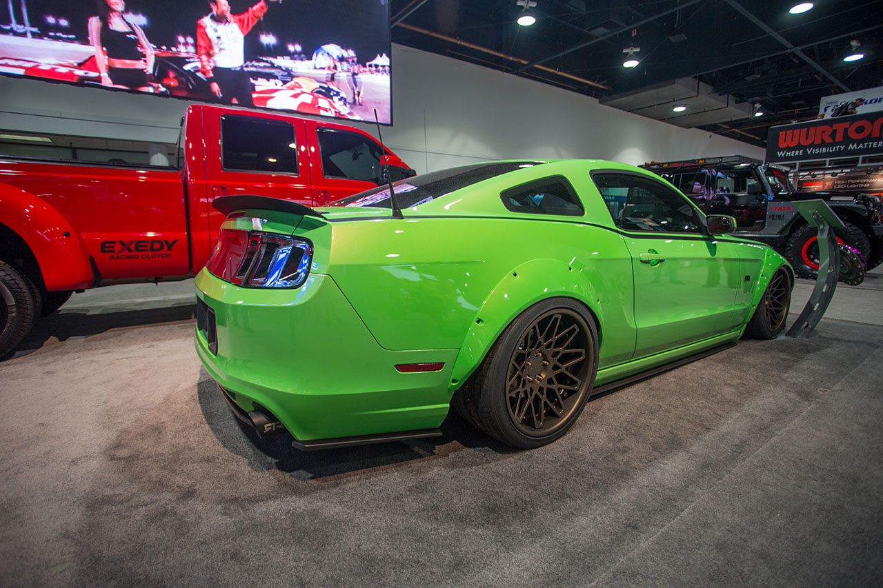 Air Lift Performance Vaughn Gittin Jr Double Down Mustang RTR SEMA