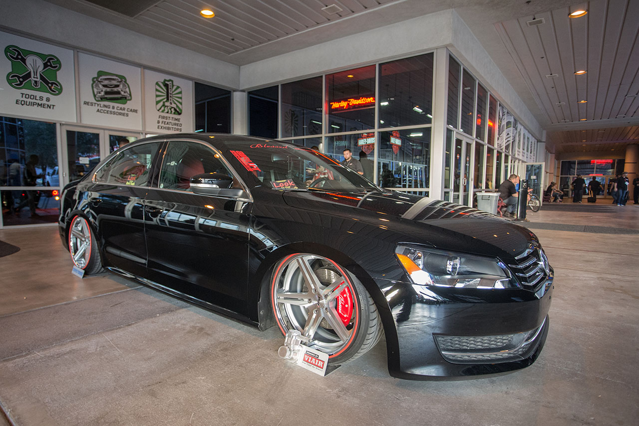 Blessed Motorsports 2013 VW Passat on Air Lift Performance