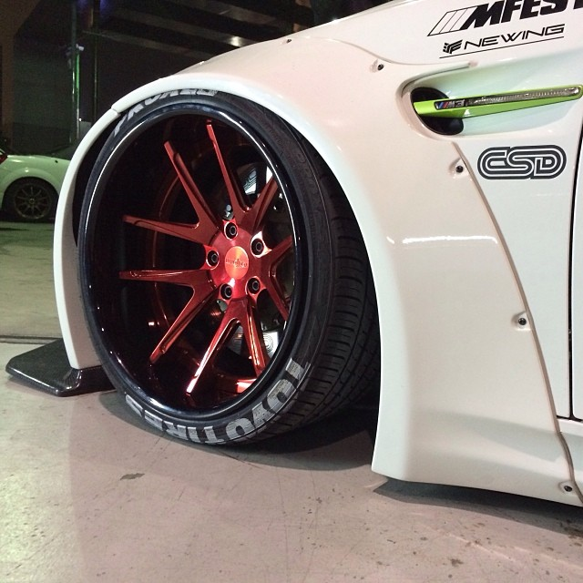 Air Lift Performance air-equipped E92 M3