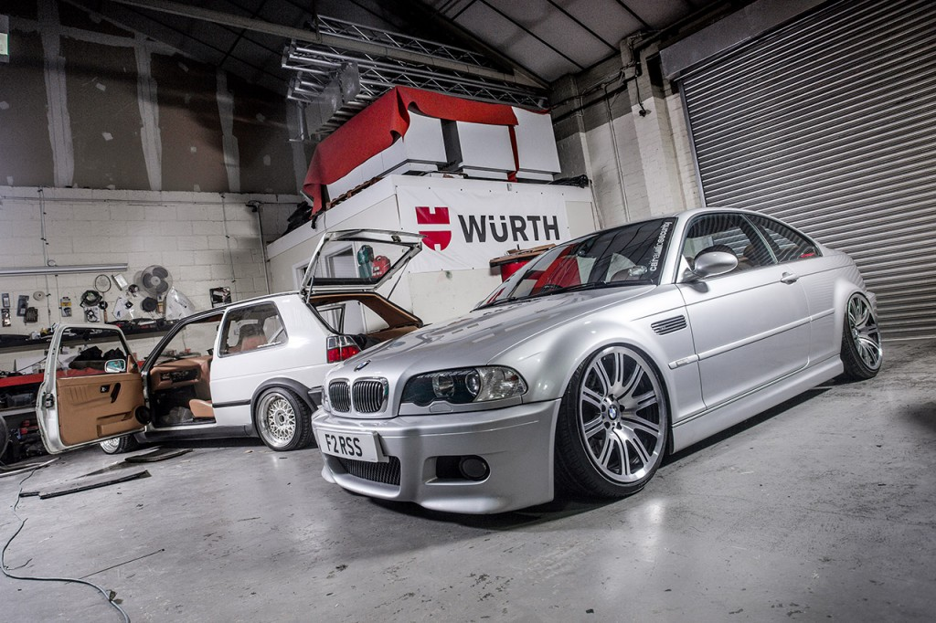 Europe's first Air Lift Performance E46 M3
