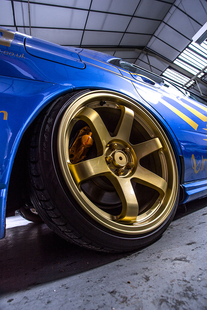 JBL Audio Impreza STI gets the Air Lift Performance treatment