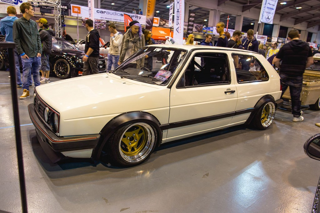 Players x Rotiform Air Lift Performance-equipped Mk2 Golf GTI
