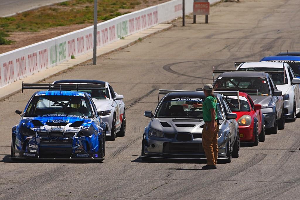 Subaru-STI-on-the-track-cody-miles-redline-time-attack-linedup