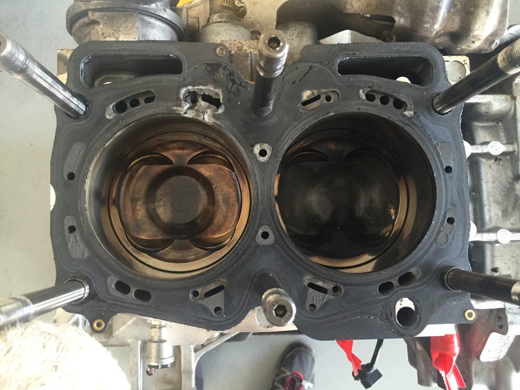 Blown Subaru Engine