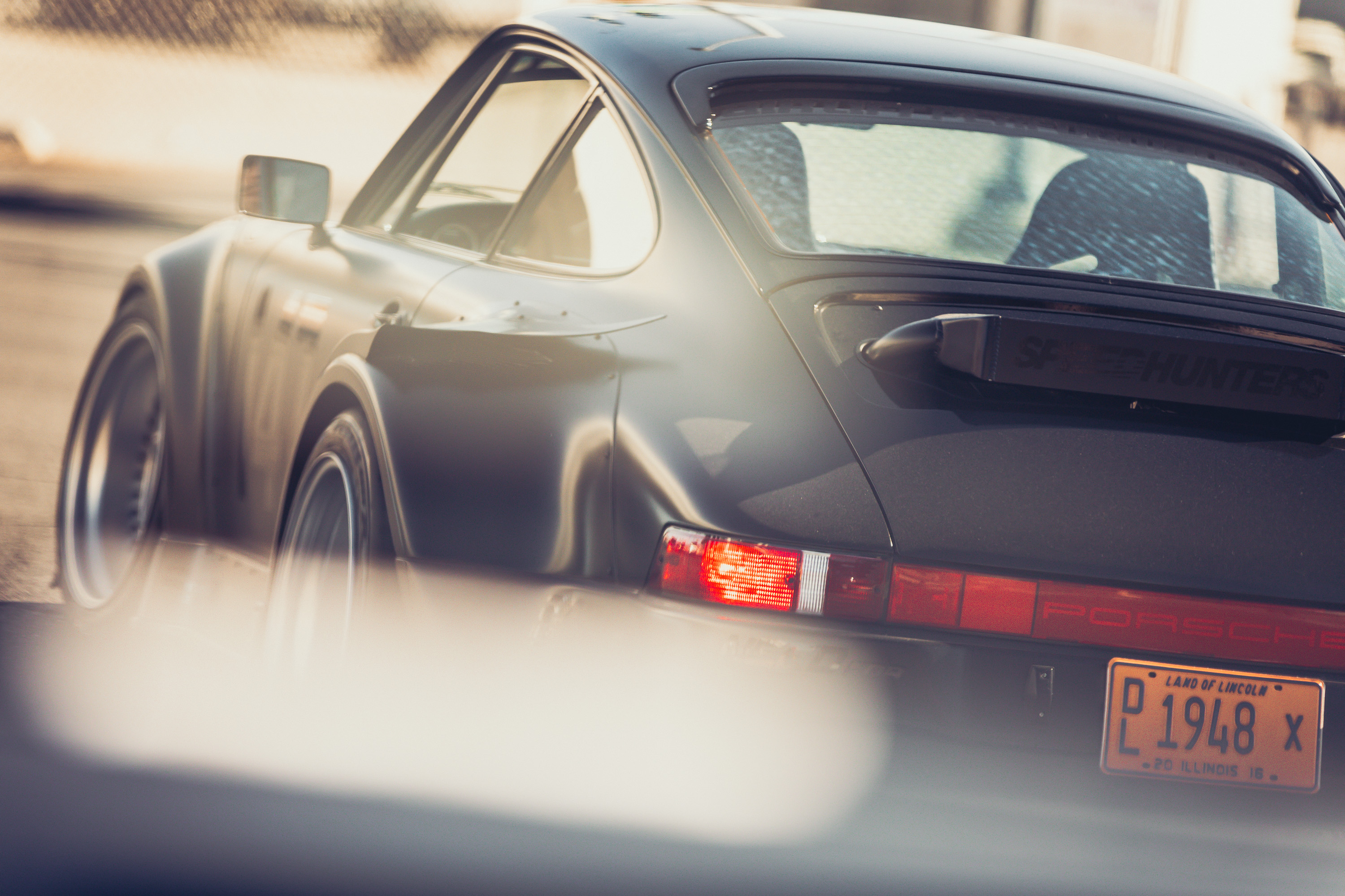 Porsche 964 driven by BBC's Top Gear Team