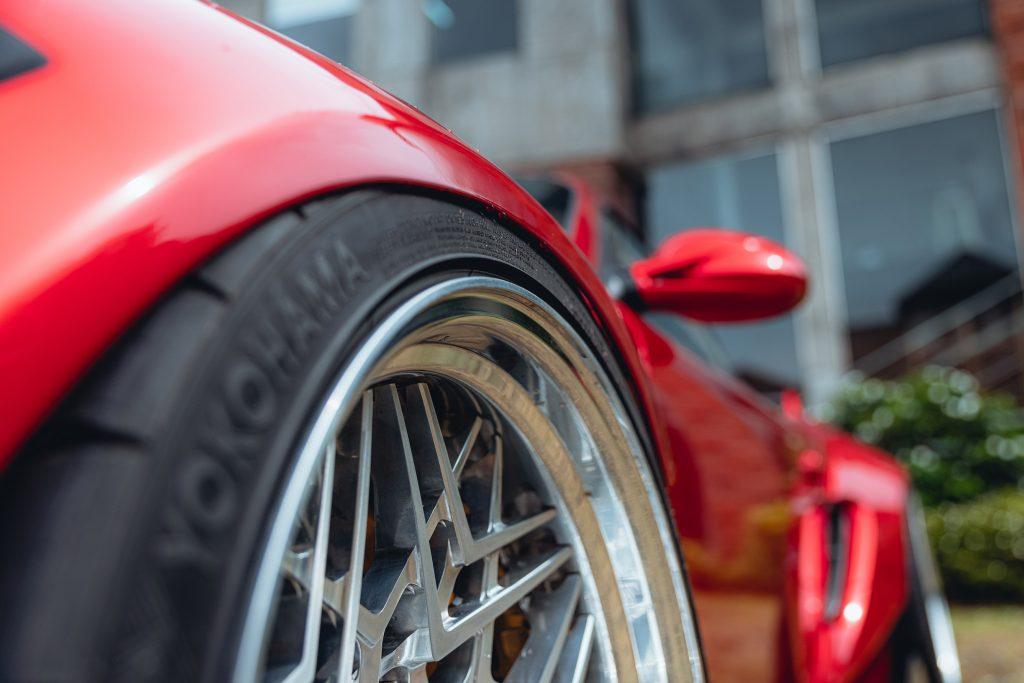 Karma Porsche 987 - front wheel fitment