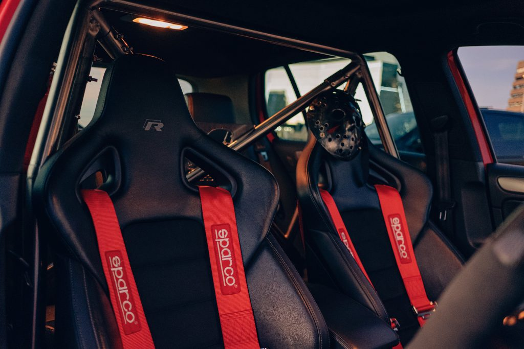 Air Lift Performance Around The World South Africa - VW Golf R trio sparco