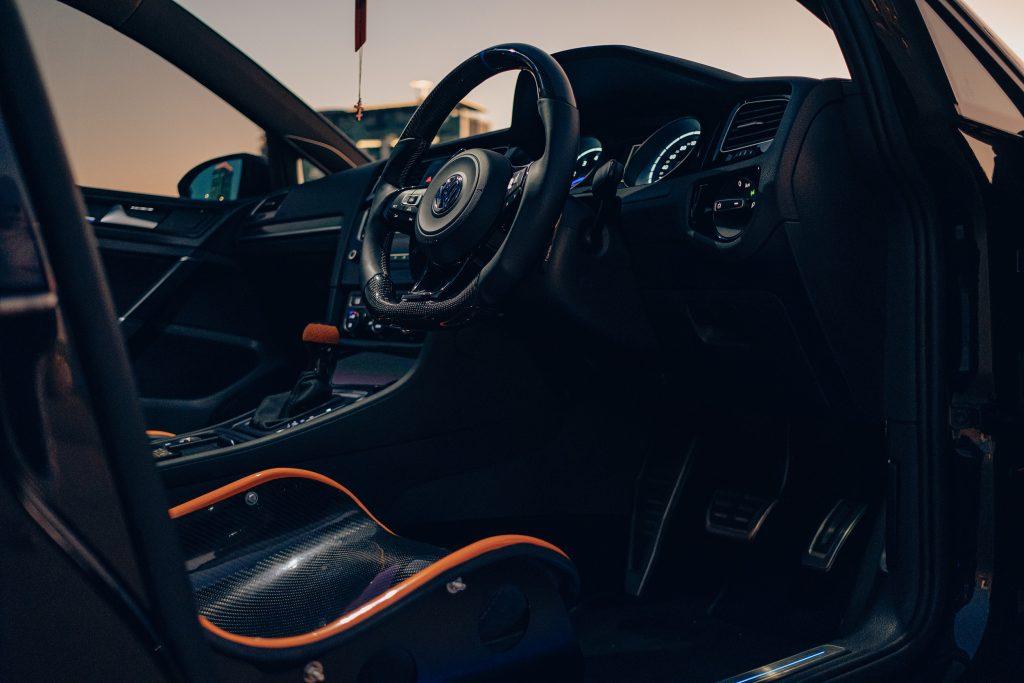Air Lift Performance Around The World South Africa - VW Golf R trio interior