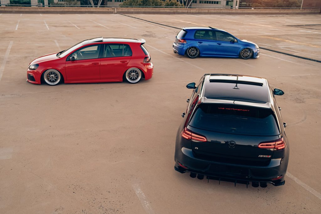 Air Lift Performance Around The World South Africa - VW Golf R trio rear