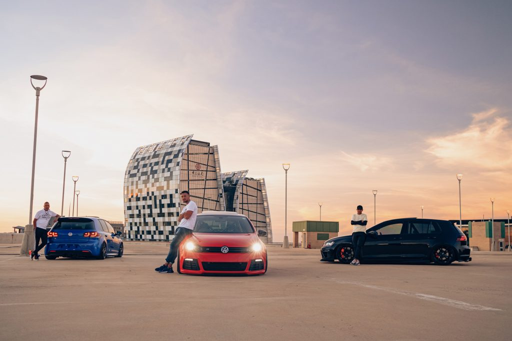 Air Lift Performance Around The World South Africa - VW Golf R trio people