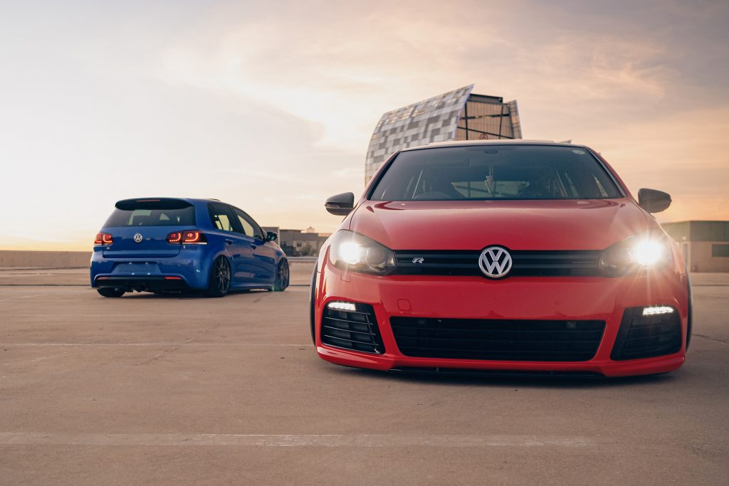 Air Lift Performance Around The World South Africa - VW Golf R dual front