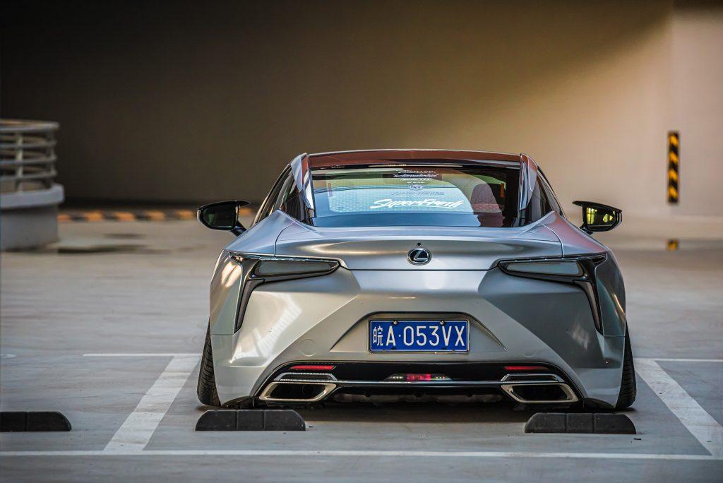 Around the World Series China - Kantoworks Lexus back end