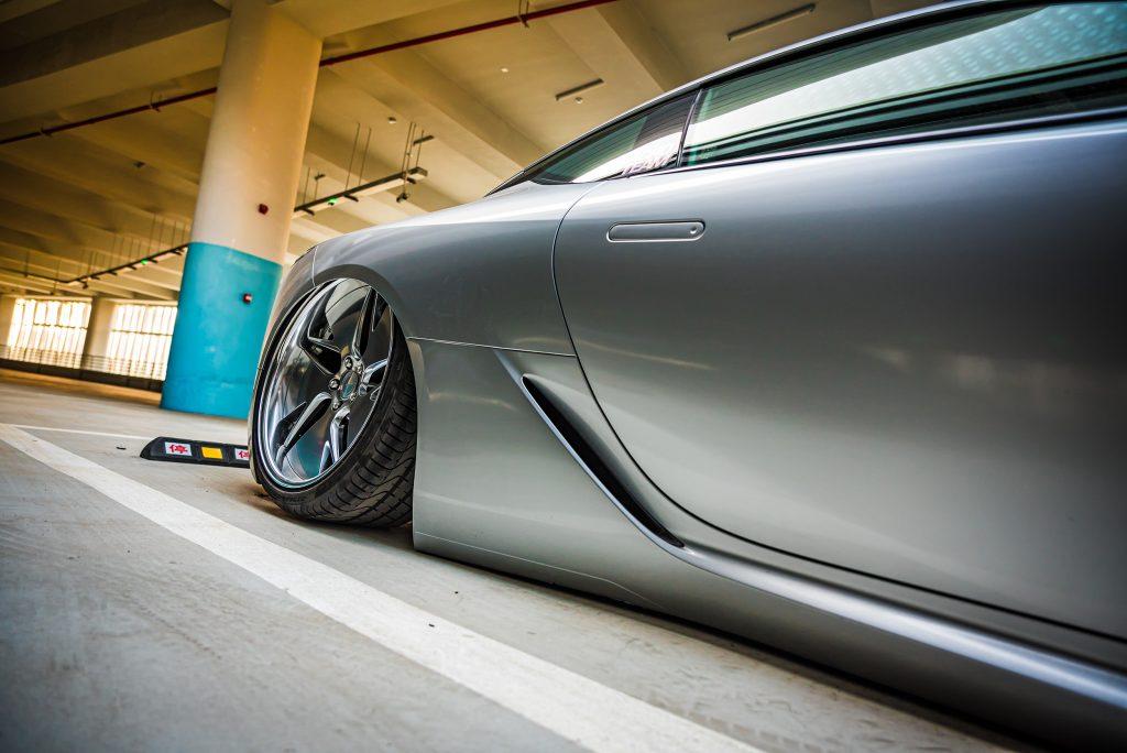 Around the World Series China - Kantoworks Lexus wheel detail