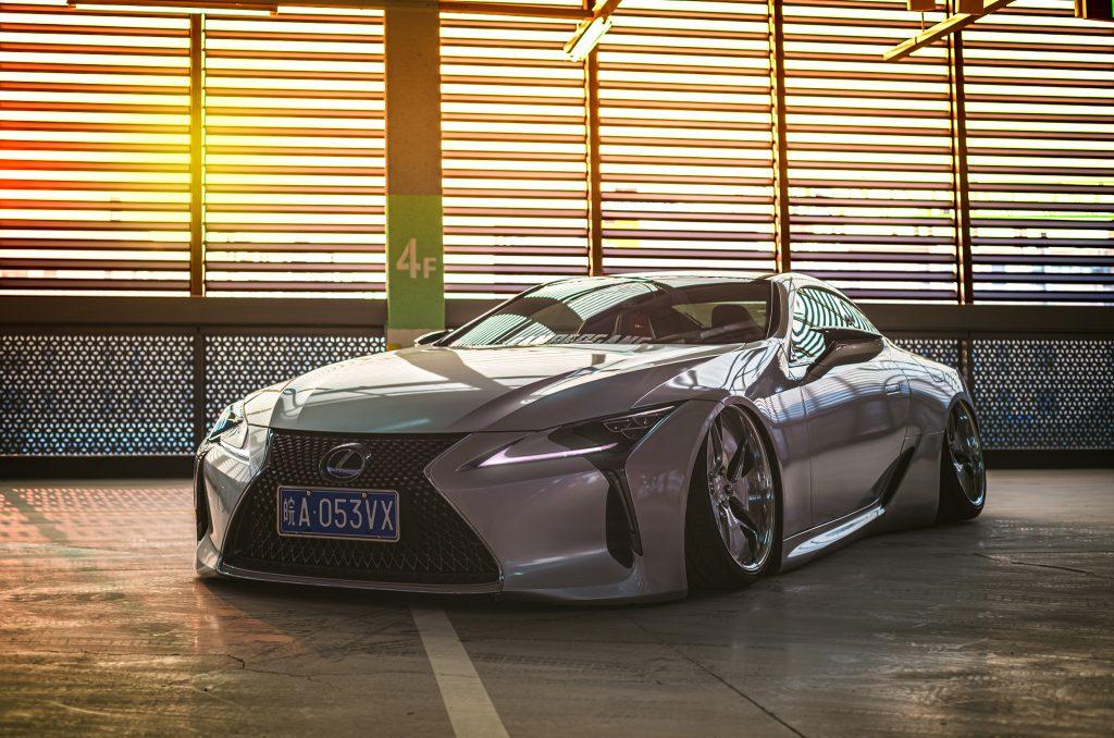 Around the World Series China - Kantoworks Lexus front shot