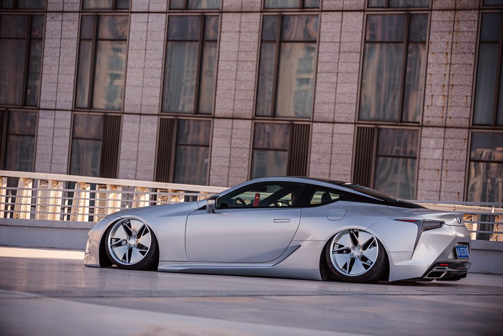 Around the World Series China - Kantoworks Lexus side shot