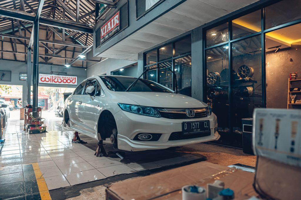 Air Lift Indonesia Art Custom Shop pic - Honda Accord 'bagged