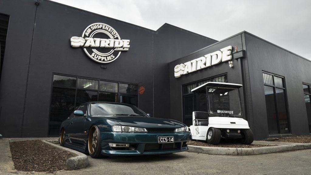 Airride Suspension Supplies Australia front entrance