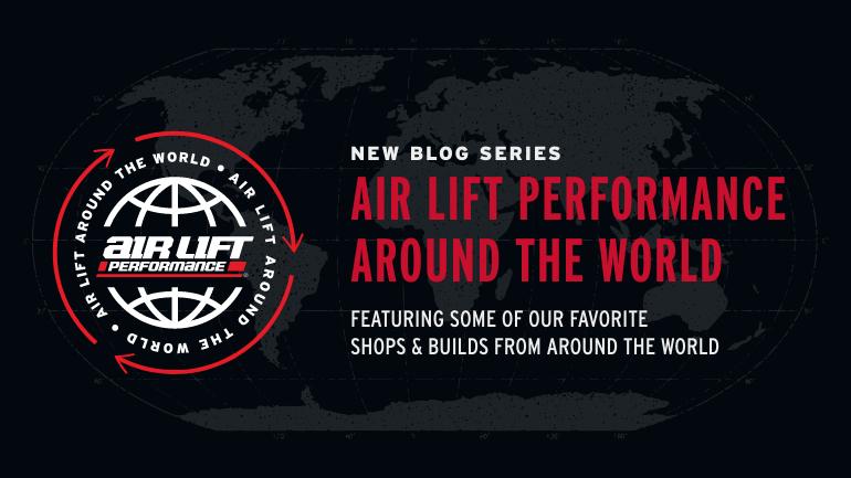 Air Lift Performance Around the world banner