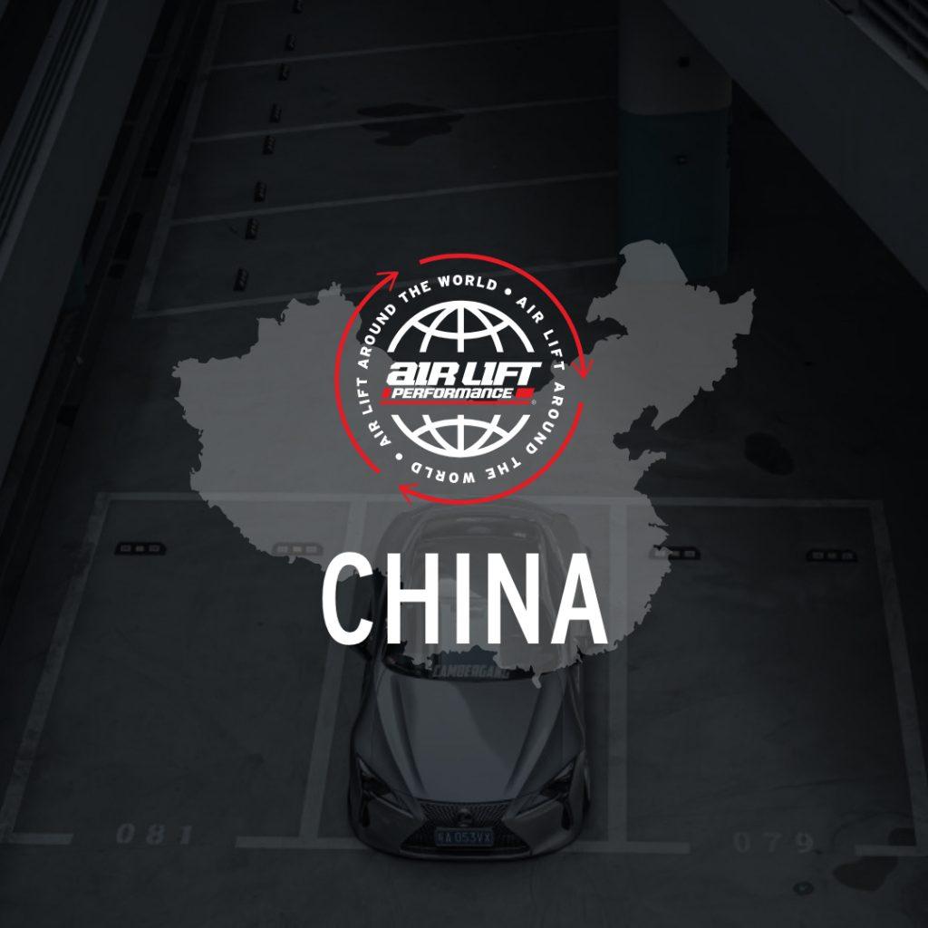 Air Lift worldwide - China graphic